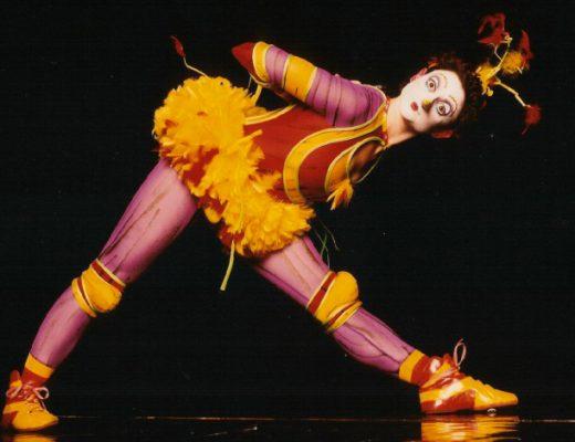 DC theater artist / clown Elena Day. Photo courtesy Elena Day –http://www.elenaday.com/.