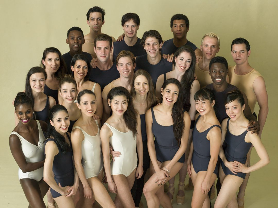 The Washington Ballet with Artistic Director Julie Kent (Photo: Dean Alexander)