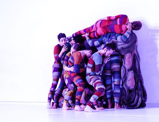 The Inbal Pinto and Avshalom Pollack company performing 'Wallflower' in 2015