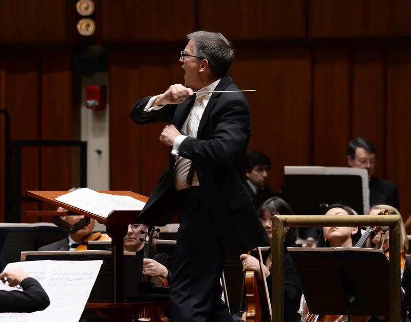 Choral Arts' artistic director, Scott Tucker conducts the Berlioz Requiem.